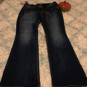 NWT $89 Silver Jeans 33/33 SUKI Bootcut Mid-rise